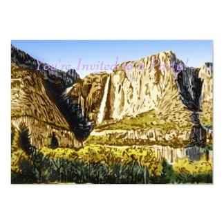 Yosemite Falls Card