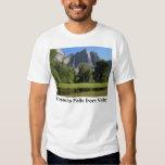 Yosemite Falls from Valley in California T Shirt