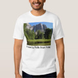 Yosemite Falls from Valley in California Tee Shirt