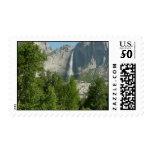 Yosemite Falls I Stamp