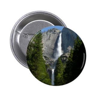 Yosemite Falls II from Yosemite National Park 2 Inch Round Button