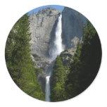 Yosemite Falls II from Yosemite National Park Classic Round Sticker