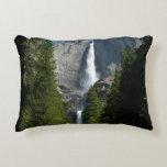 Yosemite Falls II from Yosemite National Park Decorative Pillow