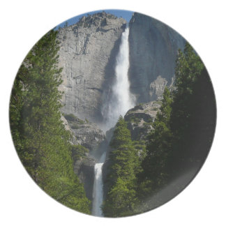 Yosemite Falls II from Yosemite National Park Dinner Plate
