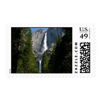 Yosemite Falls II Stamp