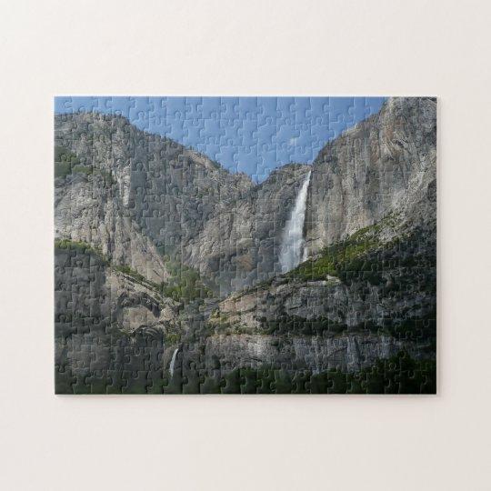 Yosemite Falls III from Yosemite National Park Jigsaw Puzzle