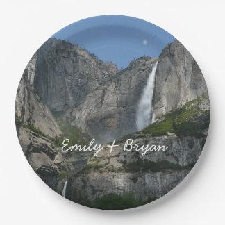 Yosemite Falls III from Yosemite National Park Paper Plate