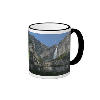 Yosemite Falls III from Yosemite National Park Ringer Mug