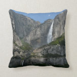 Yosemite Falls III from Yosemite National Park Throw Pillow