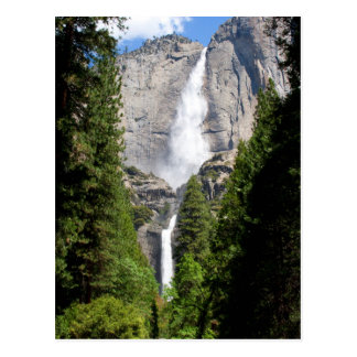 Yosemite Falls in May Postcard