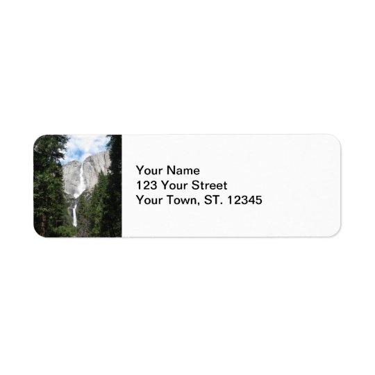 Yosemite Falls Label