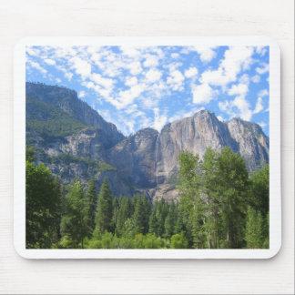 Yosemite Falls Mouse Pad
