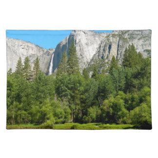 Yosemite Falls Cloth Placemat