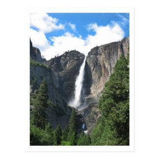 Yosemite Falls Postcard
