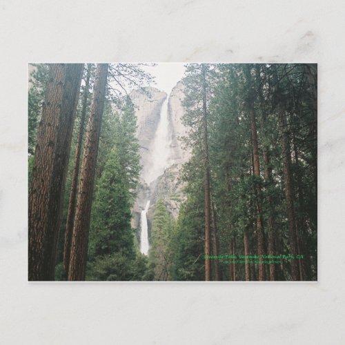 Yosemite Falls Postcards postcard