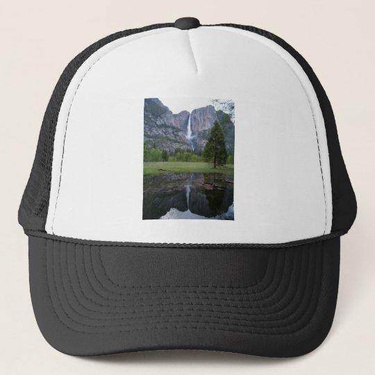 yosemite falls reflection trucker hat