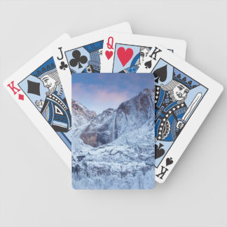 Yosemite Falls Sunrise Bicycle Playing Cards