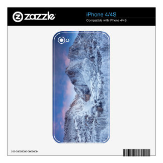 Yosemite Falls Sunrise Decal For The iPhone 4S