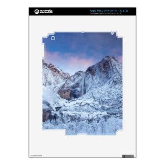 Yosemite Falls Sunrise iPad 3 Decals