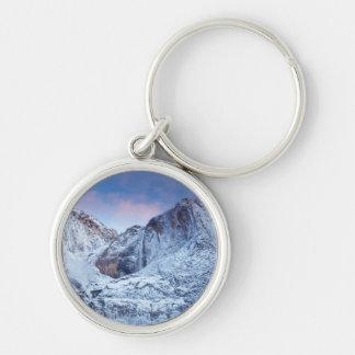 Yosemite Falls Sunrise Keychain
