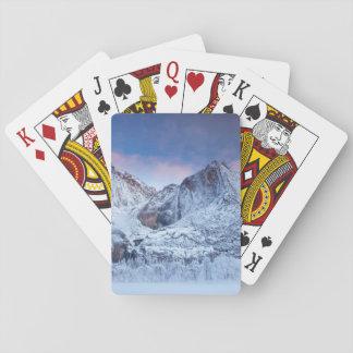 Yosemite Falls Sunrise Playing Cards