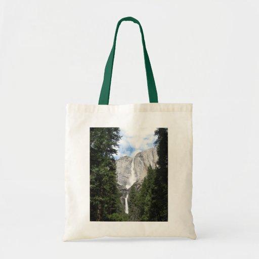 Yosemite Falls Tote Bags