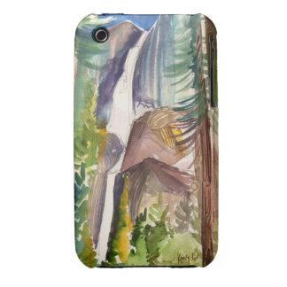 Yosemite Falls Watercolor iPhone Case
