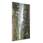 Yosemite Falls Wrapped Canvas Print