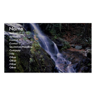 Yosemite Falls, Yosemite National Park, California Double-Sided Standard Business Cards (Pack Of 100)
