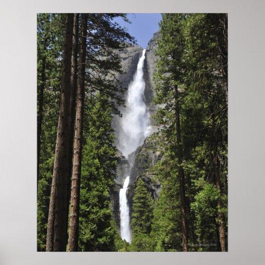 Yosemite Fall Poster: Yosemite Falls, Yosemite National Park Poster