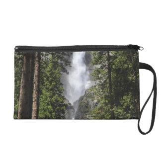Yosemite Falls, Yosemite National Park Wristlet Purse