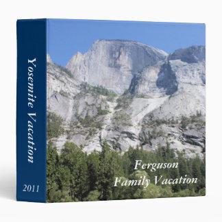 Yosemite family vacation avery photo binder