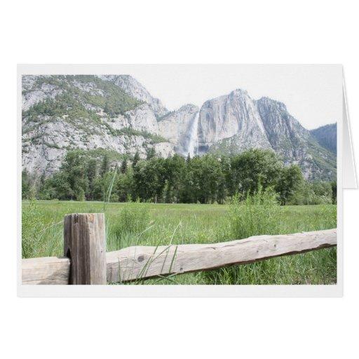 Yosemite Felicitación