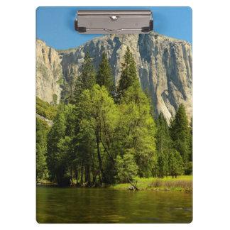 Yosemite From Valley Floor, Sierra-Nevada Clipboard
