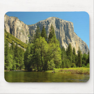 Yosemite From Valley Floor, Sierra-Nevada Mouse Pad