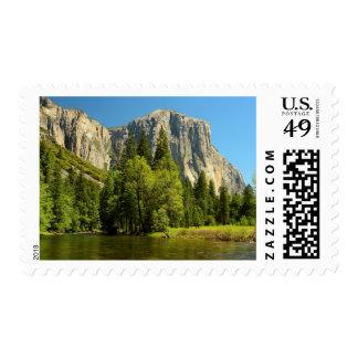 Yosemite From Valley Floor, Sierra-Nevada Postage