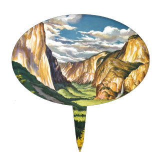 Yosemite Gifts Cake Topper