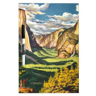 Yosemite Gifts Dry Erase Board