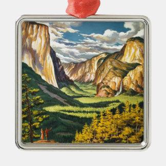 Yosemite Gifts Metal Ornament