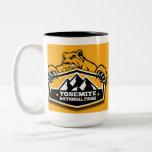 Yosemite Gold Bear Coffee Mugs