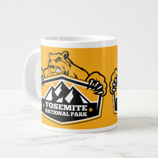 Yosemite Gold Bear Large Coffee Mug