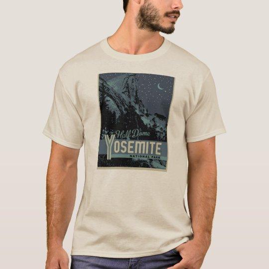 Yosemite Half Dome at Night Tee Shirt