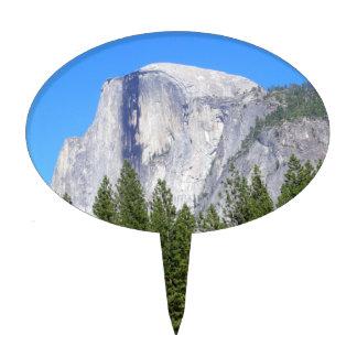 Yosemite Half Dome Cake Topper
