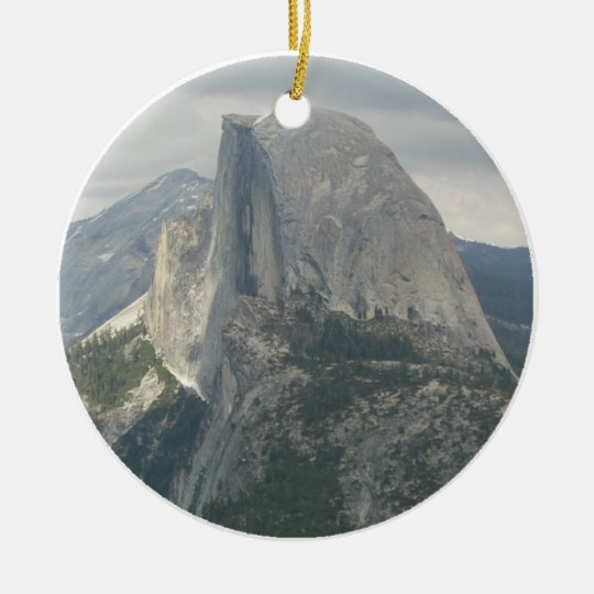 Yosemite Half Dome Ceramic Ornament