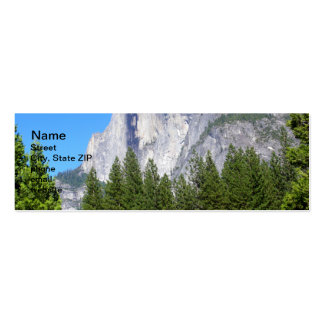 Yosemite Half Dome Double-Sided Mini Business Cards (Pack Of 20)