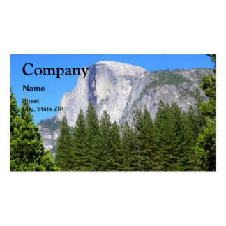 Yosemite Half Dome Double-Sided Standard Business Cards (Pack Of 100)