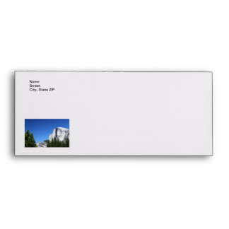 Yosemite Half Dome Envelope