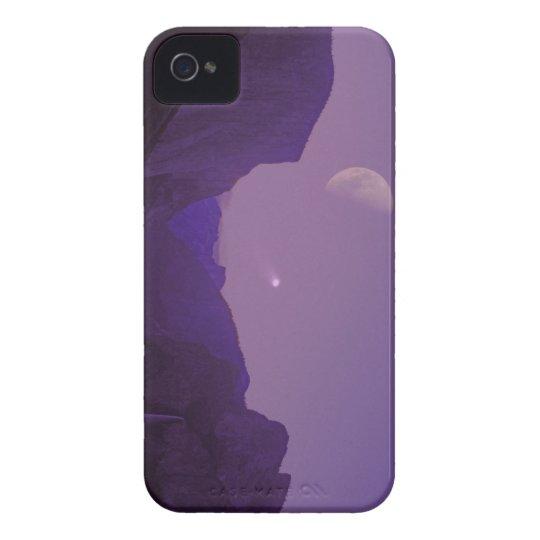 yosemite half dome hale bopp moon sunset iphone4 iPhone 4 Case-Mate case