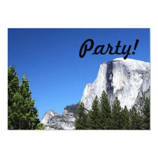 Yosemite Half Dome Custom Invitations