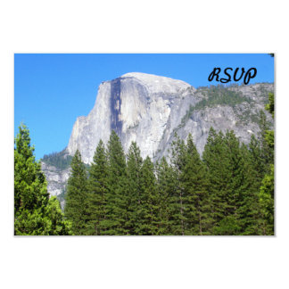 Yosemite Half Dome Custom Invites